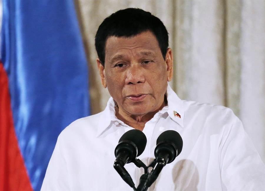 菲律賓總統杜特蒂。(圖/美聯社)
