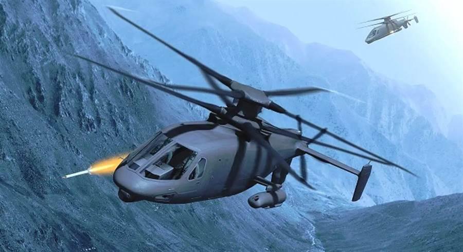美國陸軍FARA標案,5個團隊可進入複賽,賽考斯基的S-97已有一架原型機。(圖/賽考斯基)