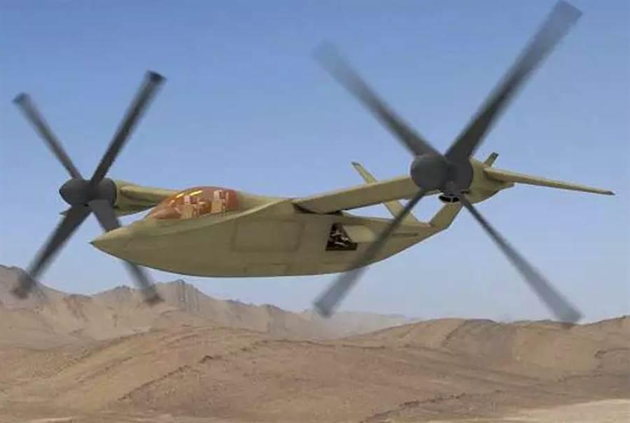 卡瑞姆公司提出的傾轉旋翼機。(圖/Karem)
