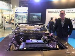 洪裕鈞投資行競科技 參加車用電子展秀動力系統