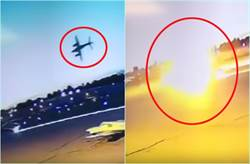 驚悚!飛機升空數秒就出事 墜跑道變火球