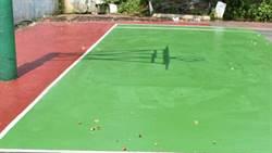 中和區公所花小錢整修 千坪籃球場嘉惠民眾