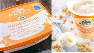 蜂巢融合奶香!好市多英式焦糖脆餅冰淇淋開搶