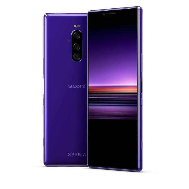 被Sony喻為「大師級手機」的Xperia 1今(26)日正式在台發表。(圖/Sony Mobile提供)
