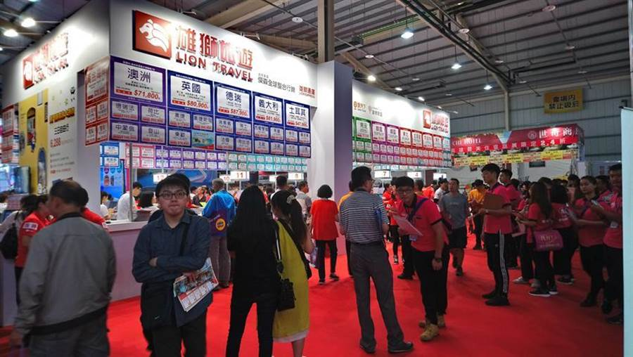 台中國際旅展26日盛大登場  參展攤位數暴增近1倍,預期可吸引超過12萬人潮參觀。圖:曾麗芳