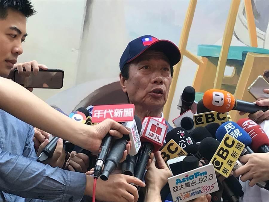 沈富雄認為,鴻海董事長郭台銘有不致命的7大罩門,只要說清楚,就可扭轉劣勢,變成自己的利基。(資料照片 陳育賢攝)