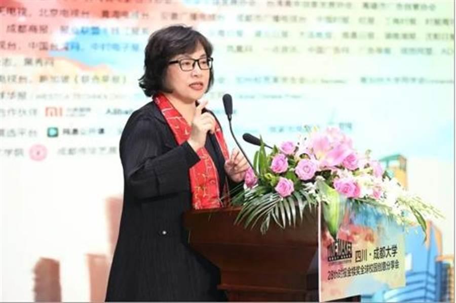 圖為旺旺中時文化傳媒北京公司總經理、時報金犢獎執行長林淑黛。