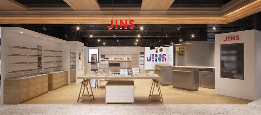 (日本快時尚眼鏡店強攻廣大年齡層與在地化。圖:JINS提供)