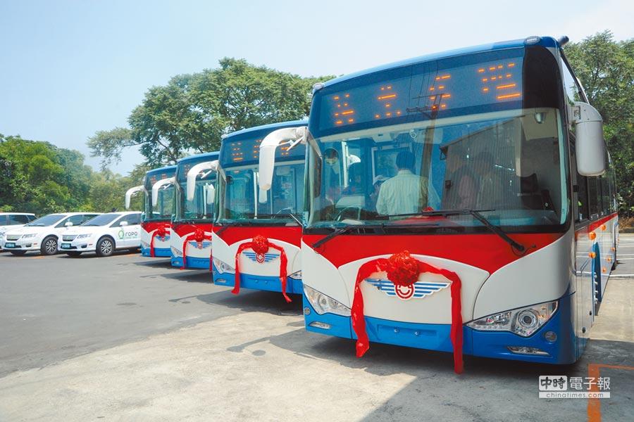 苗栗客運自2014年採用凱勝綠能電動公車,5年來妥善與穩定性備受肯定。(本報資料照片)