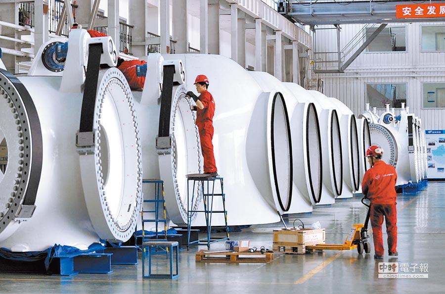 金風科技位於烏魯木齊的一處廠房。(新華社資料照片)