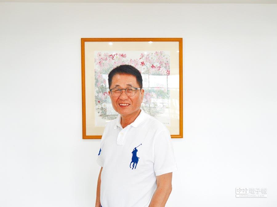 廣州台協會長王慶祥表示,兩岸年輕人應持續交流。(記者張國威攝)