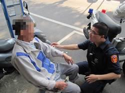 9旬翁體力透支失禁 警發現送護返家