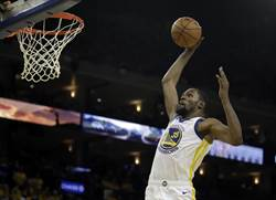 NBA》死神降臨!杜蘭特50分助勇士晉級