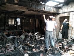 南市府勞工局關心東山區火災戶 免費助修繕房屋