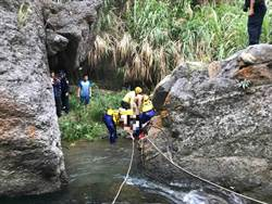 台中男子和平橫流溪戲水 跳水卡石縫身亡