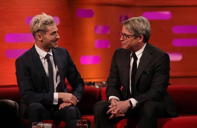 柴克艾弗隆(左)。(BBC Lifestyle提供)