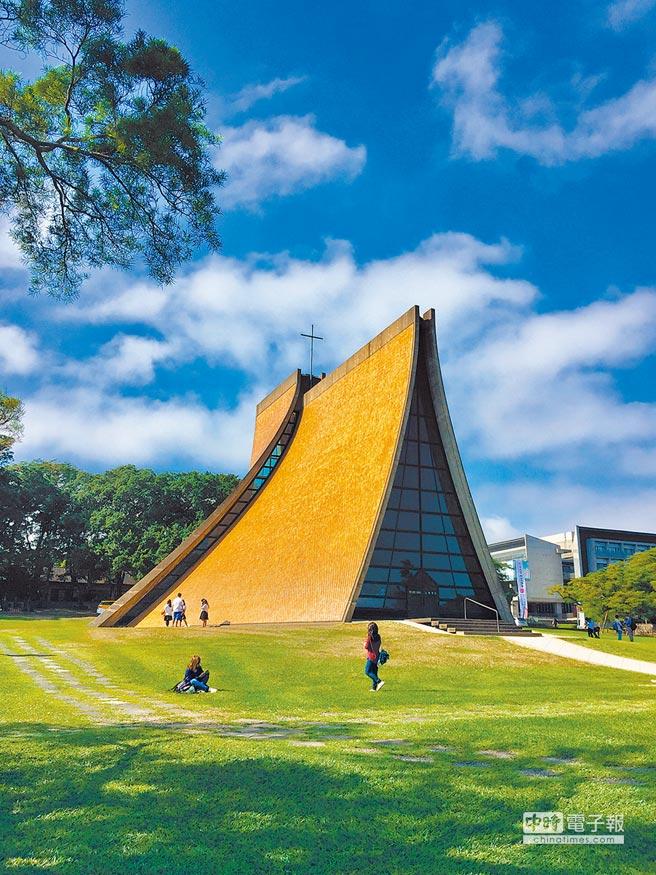 台中市直轄市定古蹟路思義教堂。(台中市文資處提供)