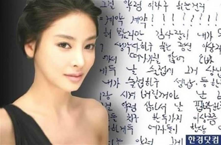 SBS電視知名節目,傳出取得張紫妍生前錄音檔。(圖/韓網)