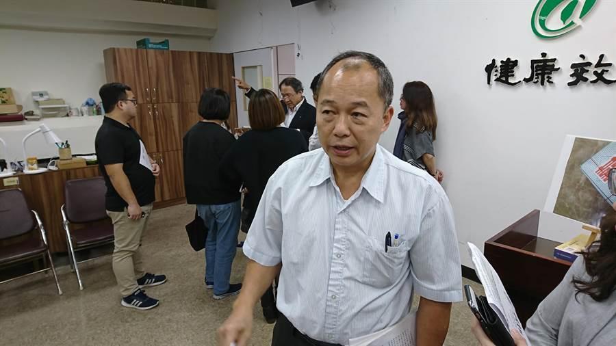 農委會防檢局組長彭明興去年酒駕被記大過,因工作表現佳,功過相抵考績仍列甲等。(資料照/廖德修攝)