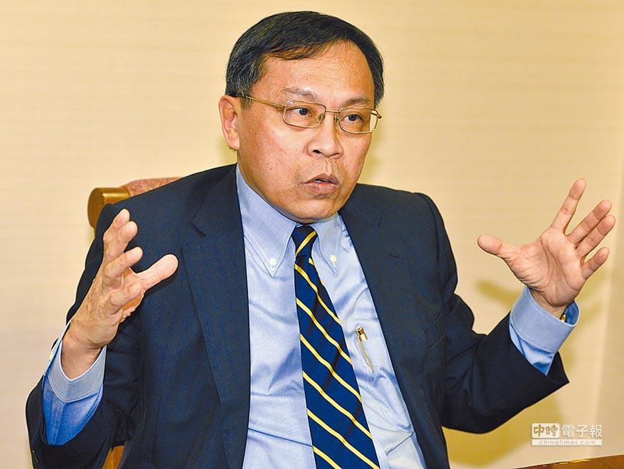 台灣金控董事會決議,將發行14億普通股,私募420億元。圖為董事長呂桔誠。圖/本報資料照片