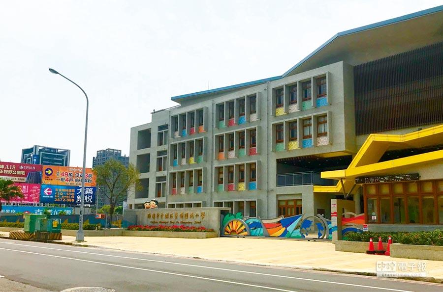 青埔國小以雙語明星學校,成為吸引家長指名的搶手學區,許多知名建商展開推案。圖/台灣房屋提供