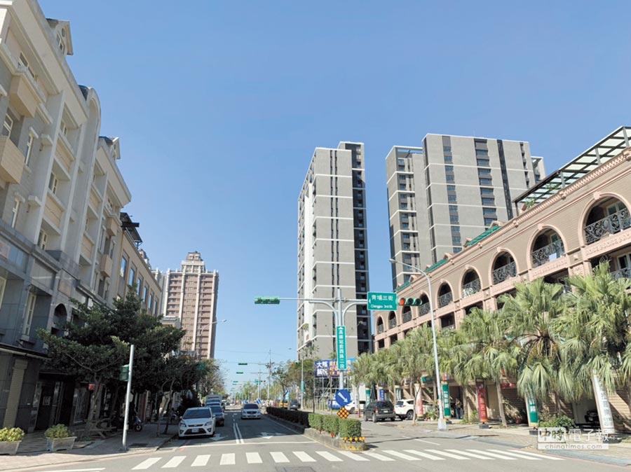 青埔為全台唯一結合有高鐵、國道、捷運與機場的重劃區。圖/台灣房屋提供