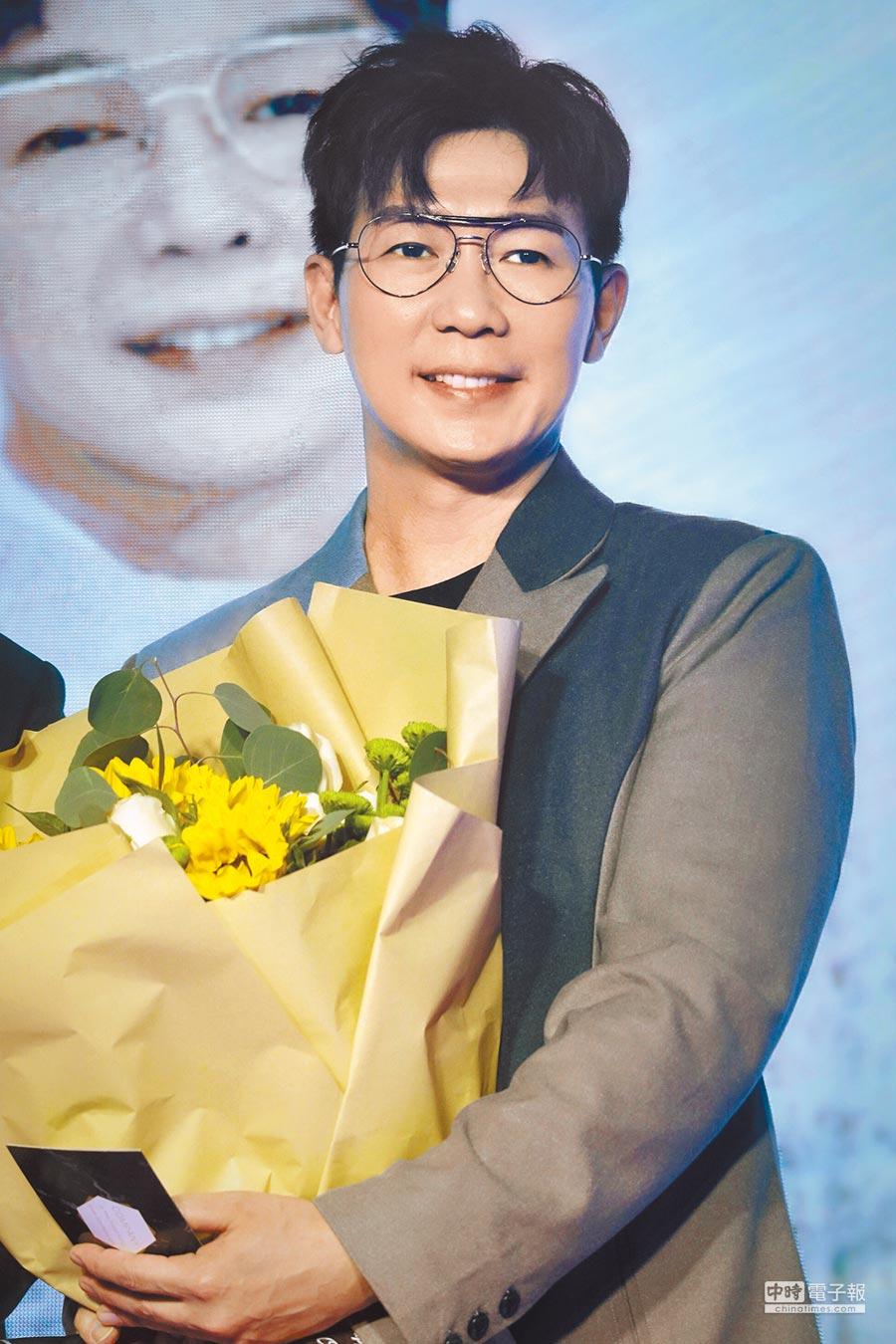品冠25日在北京舉辦巡演記者會。