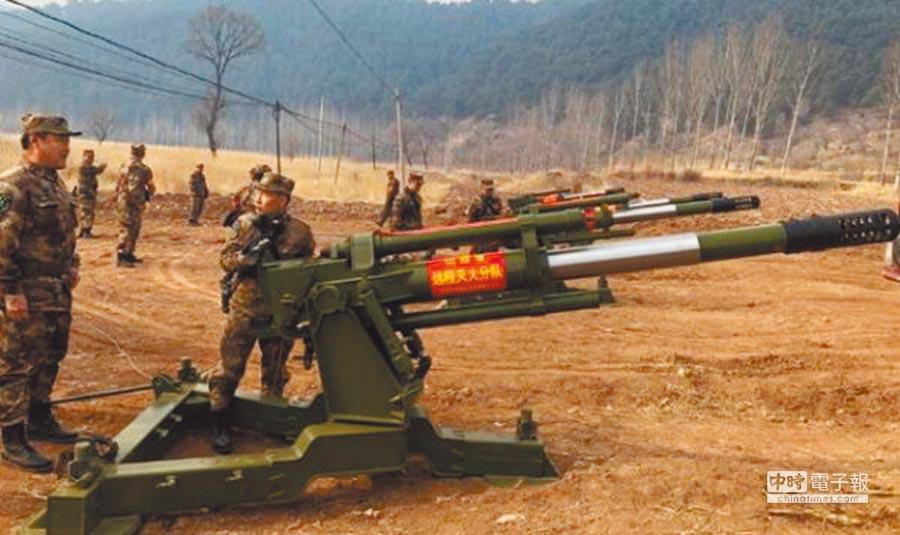 北方工業公司研發的長程滅火炮。(取自《中國日報》)