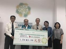 潘吳綺文大愛捐1234萬  助北市清寒學生