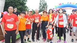 愛愛老寶貝鹿港開跑 90歲陳研1小時完賽5K