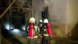 東澳幸福水泥廠竄濃煙 火勢撲滅無人員受傷