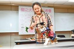 體驗一日大學 貓界名模撥穗
