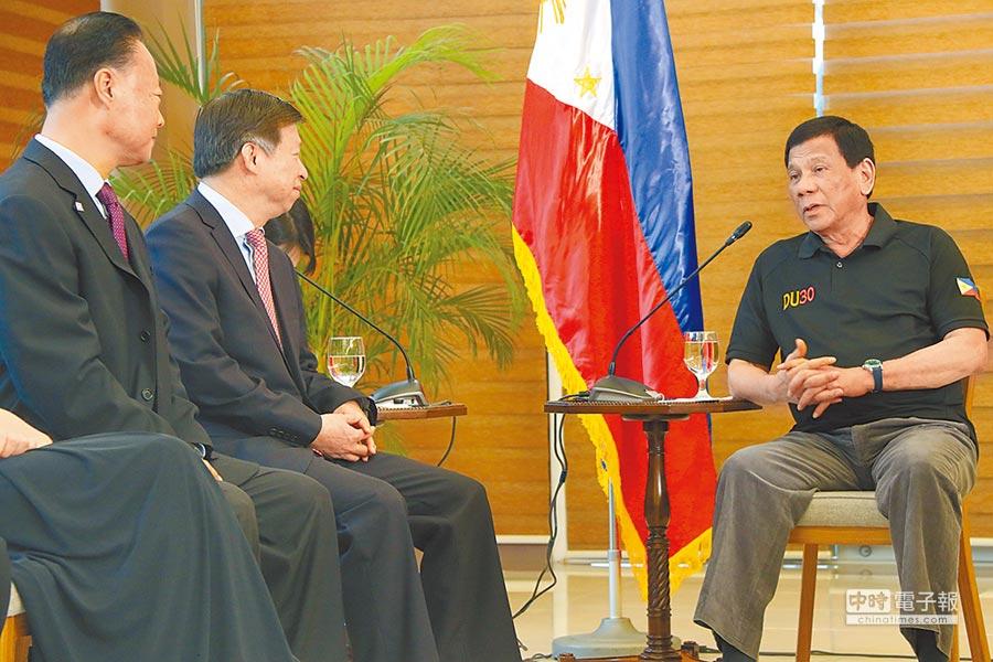 菲律賓總統杜特蒂。(新華社資料照片)