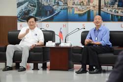 回訪韓國瑜 玉山科技協會曝香港小黃司機也挺韓