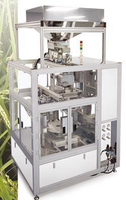 申德自動食品暨顆粒真空包裝機 低耗材、產能效率提升
