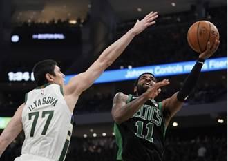 NBA》塞爾提克當奧客 狂贏公鹿22分