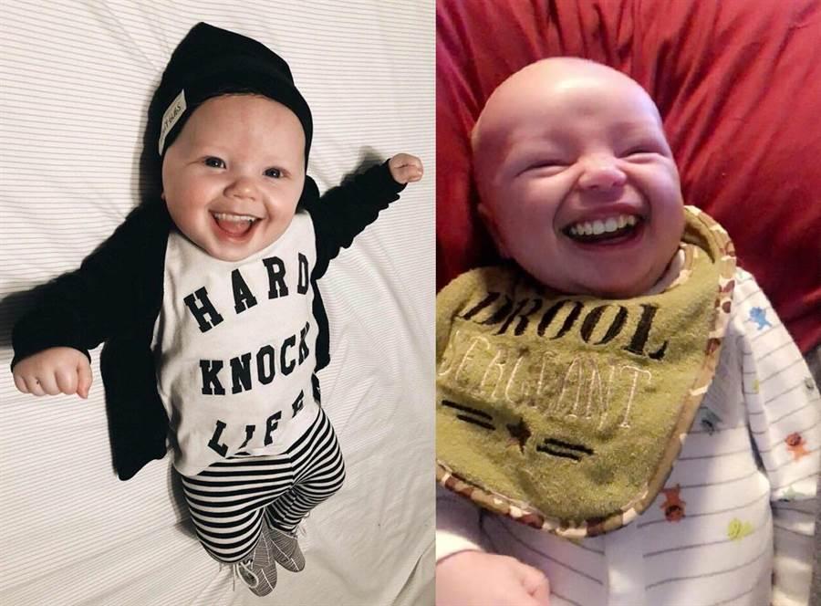 艾希莉開設了粉絲專頁 專門上傳「有牙嬰兒」的照片(圖/翻攝自FB/Babies With Teeth)