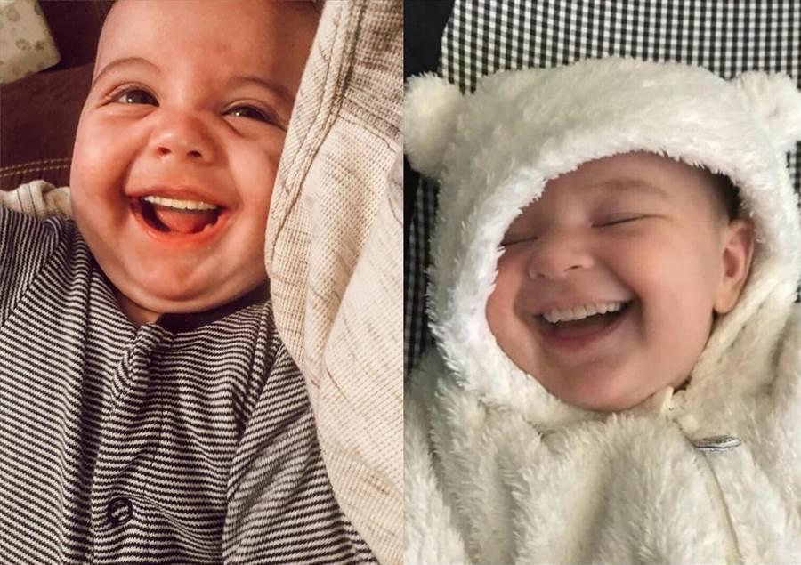 大部分的網友都覺得照片十分有趣可愛(圖/翻攝自FB/Babies With Teeth)