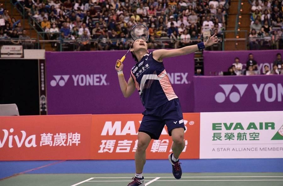 世界球后戴資穎將亮相108年全國羽球團體錦標賽。(中華羽協提供)