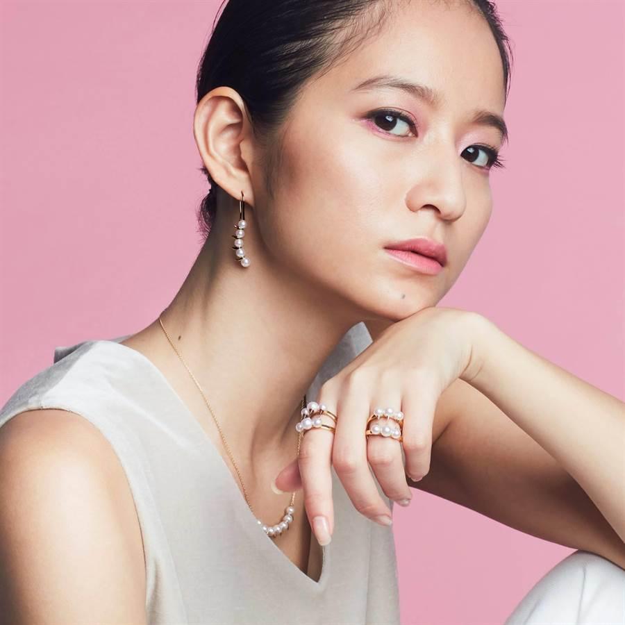 TASAKI推薦Balance系列珍珠飾品,充滿個性品味。(TASAKI提供)