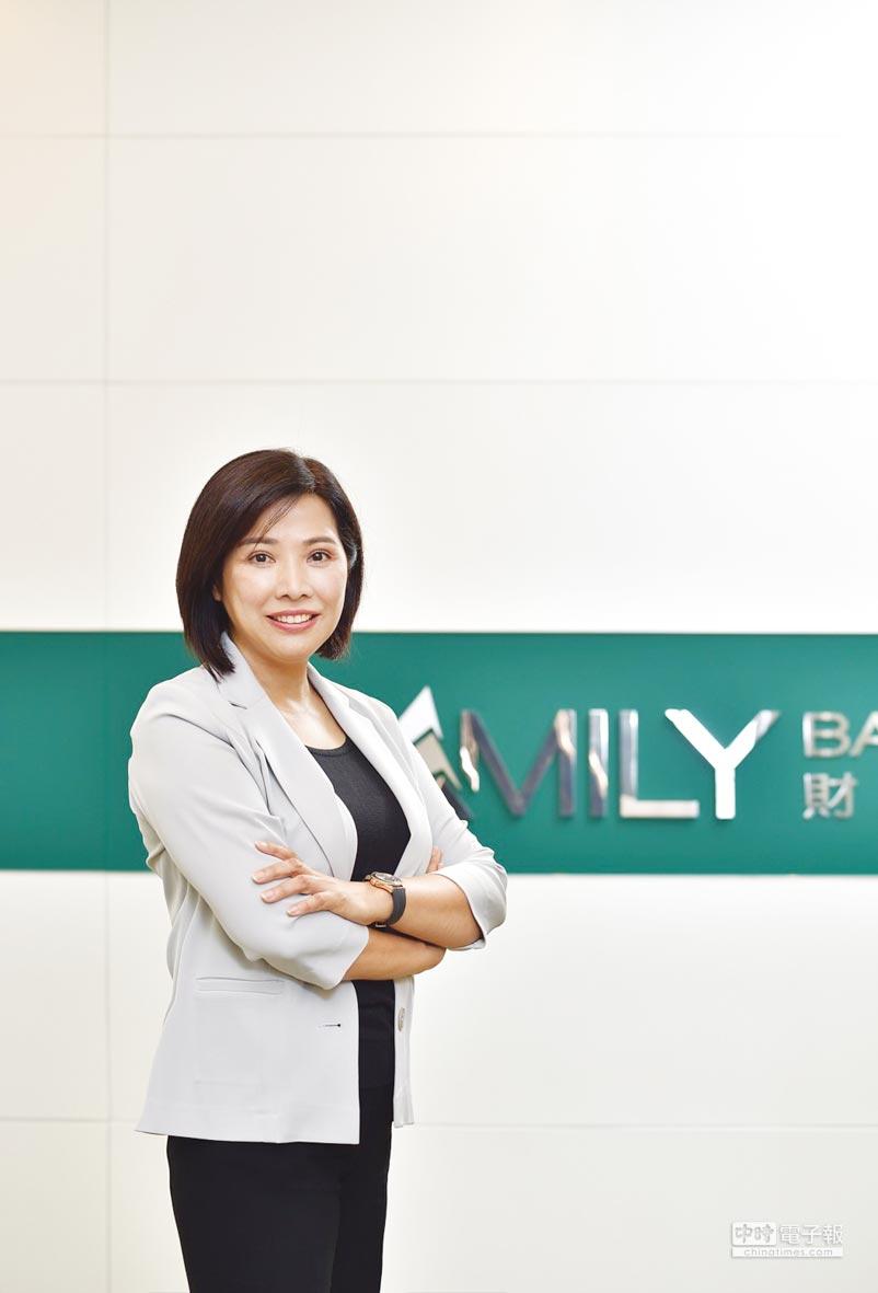 中國信託銀行個金營運總處總處長楊淑惠。圖/公司提供