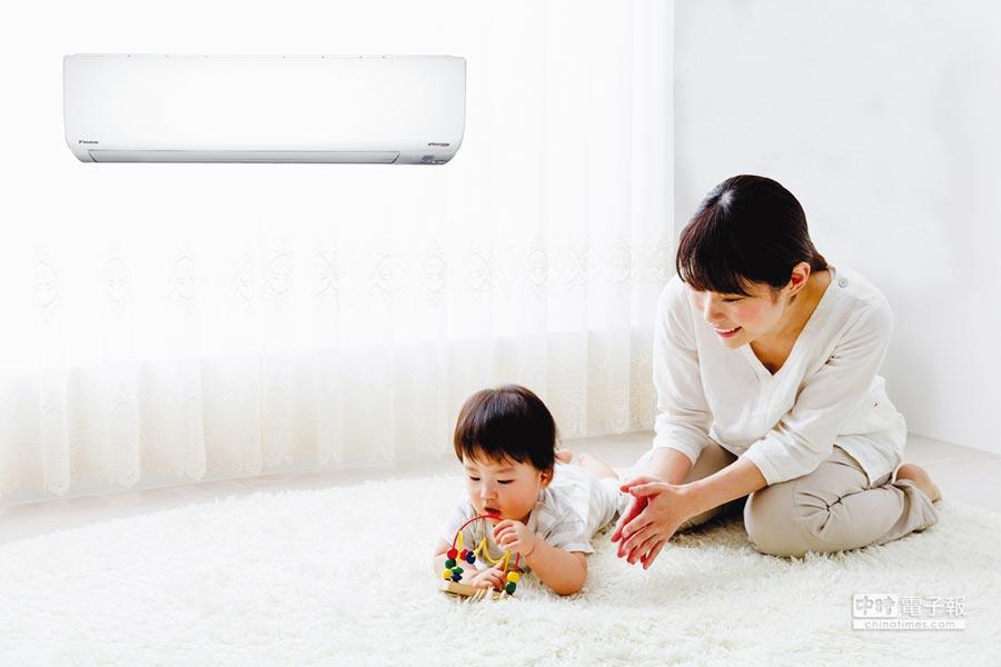 大金空調節能、省電、環保、舒適,是消費者心目中的首選空調品牌。圖/業者提供