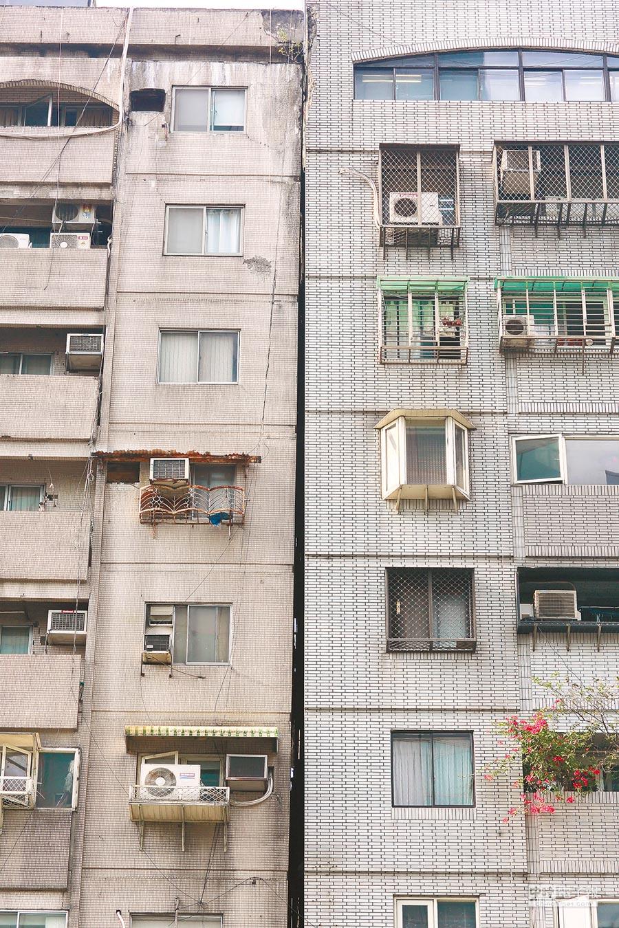 花蓮4月18日發生芮氏規模6.1地震,位於北市信義路4段的富貴角大樓,疑因地震發生傾斜情形,經建管處會同專業公會鑑定後,認定並無立即危險。(本報資料照片)