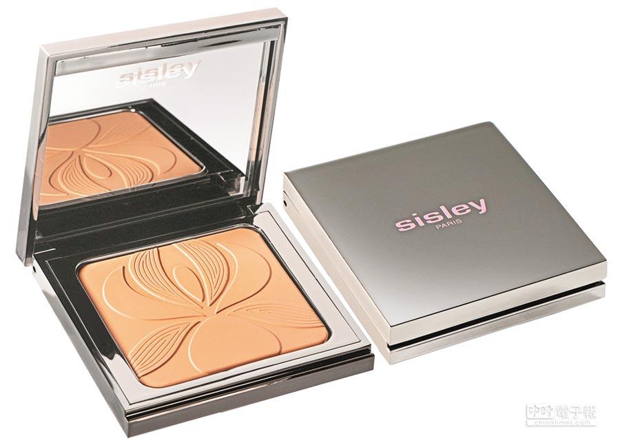 Sisley植物保養絲緞光蜜粉餅11g,2800元。(Sisley提供)