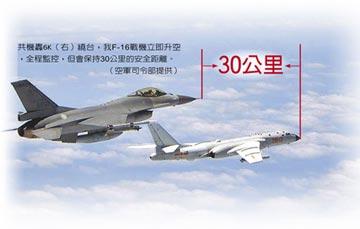 兩岸戰機 保持安全距離跳探戈