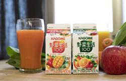 分享日本令和新年號喜悅! KAGOME野菜生活100純蔬果汁選擇在台首發上市