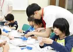 台科大推動遊戲化科普教育 公益體驗課教小朋友打造動力車