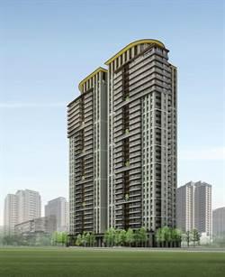 豪宅推手皇苑建設,今年前4月賣出42戶,金額13億元,年增50%