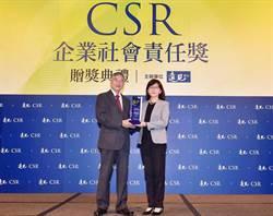 富邦金獲「《遠見》第15屆CSR年度大調查」楷模獎