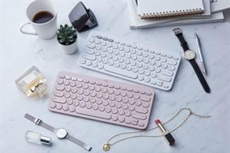 羅技K380藍牙鍵盤新色上市 春意盎然